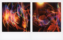 String Cheese Incident Hula Hoop (tobysx70) Tags: polaroid originals color 600 instant film slr680 roidweek roid week polaroidweek fall autumn october 2018 string cheese incident hula hoop red rocks amphitheatre west alameda parkway morrison denver county colorado co night nocturnal motion blur long exposure music gig concert jamband diptych polaradoone polarado 072018 day2 toby hancock photography