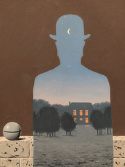 """""""The Happy Donor"""", Rene Magritte (1966) (Joey Hinton) Tags: sanfrancisco california unitedstates rene magritte exhibit museum modern art google pixel2 andriod smartphone cellphone cameraphone phone"""