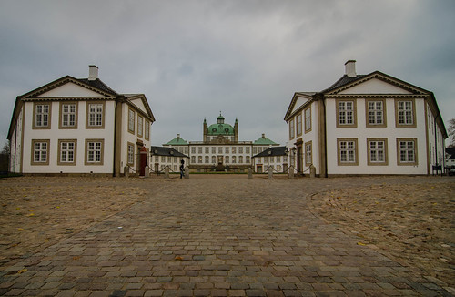 The Fredensborg palace