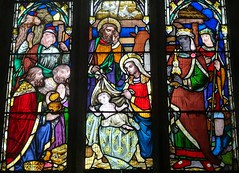 [67666] St Peter, Doddington : North Aisle Window (Budby) Tags: doddington lincolnshire church stainedglass window