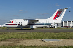 KRF_RAF_BAE146_ZE700_BRU_NOV2018 (Yannick VP - thank you for 1Mio views supporters!!) Tags: military governmental passenger pax vip vvip transport aircraft aeroplane jetliner airliner unitedkingdom government royalairforce raf 32thaw britishaerospace bae146 146100 statesman b141 b146 ze700 brussels airport bru ebbr belgium be europe eu october 2018 headofstate headofgovernment summit aviation photograpy planespotting airplanespotting airside taxi taxiway twy j