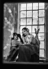 Broken Glass (LKB_Photography) Tags: urbex urban derelict old model models photoshoot england