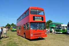 M1069 B69WUL (PD3.) Tags: london transport mcw metrobus united m1069 m 1069 b69wuv b69 wuv bus buses hampshire hants england uk gosport lee solent stokes bay station fareham provincial society preserved vintage coach seafront sea front 2018