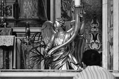 Face To Face (Ermanno Albano) Tags: napoli naples italy church blackwhite blacknwhite blackandwhite