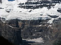 Victoria Glacier,  Banff National Park (januszsl) Tags: banffnationalpark alberta canada glacier gletscher lodowiec ice eis glace lod goryskaliste rockymountains canadianrockies montagnesrocheuses mountain mountains gora berg montagne montaña montagna rocheusescanadiennes national park parc narodowy nationalpark america ameryka amérique kanada