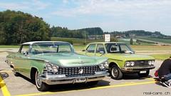 1959 Buick Le Sabre & 1976 FIAT 132 1800 GLS (RealCarsCH) Tags: 1959 buick le sabre 1976 fiat 132 1800 gls