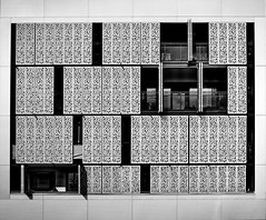 windows (heinzkren) Tags: architektur architecture contemporary modern wohnbau seestadt wien vienna austria geometry symmetry lines fenster design building gebäude scharzweis blackandwhite bw sw monochrome sonnenschutz sunprotection fensterladen frame rahmen aspern abstract structure pattern texture panasonic lumix innamoramento