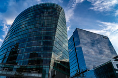 Glass and Clouds - Cityscape of Boston (pa_cosgrove) Tags: boston glass windows reflections clouds city cityscape sony a73 towers