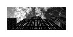 Partly Cloudy... (roylee21918) Tags: baltimore city maryland architecture monochrome blackwhite dxo photolab