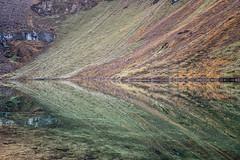 Colorful reflection in a small lake at Thrika camp - Gasa District - Snowman Trek - Bhutan (PascalBo) Tags: nikon d500 asie asia southasia asiedusud drukyul drukgyalkhap bhutan bhoutan འབྲུག་ཡུལ། འབྲུག་རྒྱལ་ཁབ་ snowman trek trekking hike hiking lunana gasa himalaya himalayas jigmedorjinationalpark mountain montagne lake lac reflection landscape paysage water outdoor outdoors pascalboegli