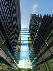 Big Data Institute (Bruce Clarke) Tags: oxford bigdatainstitute olympus m43 modernarchitecture 714mmf28 oxfordflickrphotowalk architecture outdoor universityofoxford headington omdem1 oldroadcampus