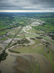 After the Flood (Anthony de Schoolmeester) Tags: southwales wales towyvalley towy river flood flooding water carmarthenshire dronephotography drone djimavicpro dji aerialphotography aerialview