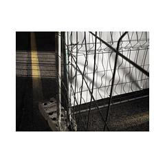 Lines...  ( Pamplona ) (José Luis Cosme Giral) Tags: lines minimalism light shadow streetsignals fences abstraction pamplona navarra