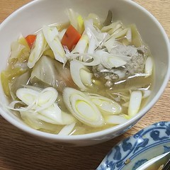 つみれ汁🐔#夕食 (inuichiro_work) Tags: ifttt instagram