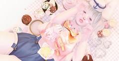 。。。baked with ♡ (ミカセモカー) Tags: belle epoque {kiss like a sailor} shorts hat miwa's airship rinka top pink rare taketomikokoanurieext28 milk tea snow bear bunny stockings kotte face pack sprinkles ctrawberry swirl cream heart strawberry kurikopeach soda gacha eyes1 lashes 700 kokoro tokimeki nails wednesday icecream okidoki sue