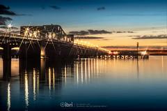 Kincardine Bridge - 28 Oct 2018 - 156-Edit.jpg (ibriphotos) Tags: kincardine kincardinebridge goldenhour crossscreen bluehour river water riverforth csfilter reflection blue sunset evening sky sunsets