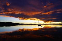 RU_201810_Herrsching_062.jpg (boleroplus) Tags: coucherdesoleil lac horizontal paysage nuage reflet contrejour bateau herrsching bayern germany de