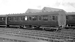 c.1961 - Selby, West (now North) Yorkshire. (53A Models) Tags: britishrailways thompson lner nonvestibule lavatorycomposite cl e88361e passengercoach selby westyorkshiretrain railway locomotive railroad