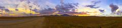 Ramona Grasslands Preserve Sunset Panorama - 2 (slworking2) Tags: ramona california unitedstates us