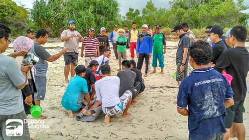 Stranded Dugong Handling Practice