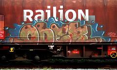 graffiti on freights (wojofoto) Tags: amsterdam nederland netherland holland graffiti streetart freighttraingraffiti freighttrain freights fr8 vrachttrein cargotrain wojofoto wolfgangjosten ober