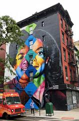 The Wiz by Kobra (wiredforlego) Tags: graffiti mural streetart urbanart publicart aerosolart manhattan newyork nyc eastvillage kobra michaeljackson
