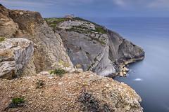 Suspended in time (Sizun Eye) Tags: cabo capeespichel espichel cliffs rocks sea ocean le long exposure portugal sisembra setubal sizuneye landscape seascape coast nikond750 1424mm nikon1424mmf28 nikkor nisifilters