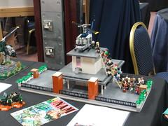 Vietnam War display at Steam 2018 (Mad physicist) Tags: lego brickish steam vietnam military show