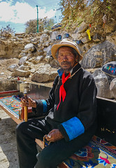 Tyred of walking the Kora - Shigatse - Tibet (Sjak11) Tags: shigatse kora tibet sony