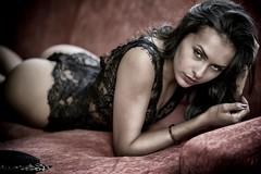 Michelle in black dessous (keulefm3) Tags: redmatrix thisphotorocks artisawoman