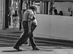 Galway corporation (Frank Fullard) Tags: frankfullard fullard candid street galway corporation belly monochrome black white blanc noir walk irish ireland steady