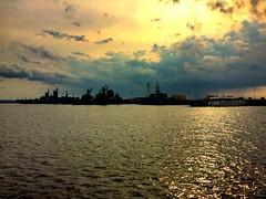 Kronstadt | Russia (maryduniants) Tags: sun sunset gulf sea ships clouds gulfoffinland kronstadt stpetersburg russia