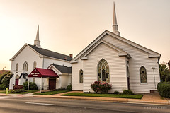 First Baptist Church Manassas (Back Road Photography (Kevin W. Jerrell)) Tags: churches backroadphotography nikond7200 christianity baptist oldbuildings oldchurches historic princewilliamcounty manassas virginia faith