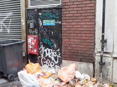 West Street. 20181015T15-41-29Z (fitzrovialitter) Tags: coventgarden england gbr geo:lat=5151333000 geo:lon=012880000 geotagged holbornandcoventgardenward unitedkingdom peterfoster fitzrovialitter city camden westminster streets urban street environment london fitzrovia streetphotography documentary authenticstreet reportage photojournalism editorial daybyday journal diary captureone olympusem1markii mzuiko 1240mmpro microfourthirds mft m43 μ43 μft ultragpslogger geosetter exiftool rubbish litter dumping flytipping trash garbage