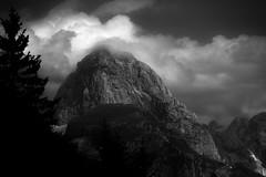 italien mountain (pat.netwalk) Tags: darknessandlight bildgutch bnw landscapes sunset clouds mountains italy