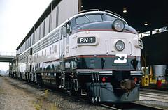 BN F9 1 (Chuck Zeiler) Tags: bn f9 1 railroad emd locomotive springfield train chuckzeiler chz windshield