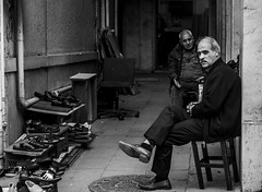 bwserie (anilcagal) Tags: minor empire mirror art streetphoto play hair purple music street people photo road endless old man with portrait doğal going photography streetphotography yellow sony sonyalpha6000 sel50f18 building workers shop window city sky flowers istanbul sad car hat