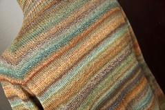 asu rustic fw cardi back 02 (thing4string) Tags: handspun allspunup bfl bluefacedleicester silk cardigan featherweightcardigan lightweight sweater handknit handknitted