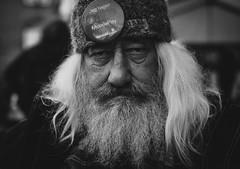 From the streets. (Johnny H G) Tags: portrait bnw blackandwhite monochrome mood male homeless street streetphotography hjemløsedagen2018 homelessday2018 contrast fujifilm johnnyhg people copenhagen københavn denmark danmark