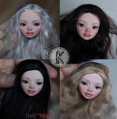 """Doll """"Mery"""" (20cm) KKeRRin-Dolls (KKeRRinDolls) Tags: kkerrindolls kkerrin bjd bjddoll artisan art balljointeddolls resin tinydoll"""