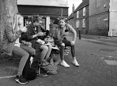 Really! (Bury Gardener) Tags: ely candid cambridgeshire candids streetphotography street streetcandids snaps strangers people peoplewatching folks 2018 bw blackandwhite monochrome mono england uk britain