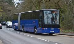 Westway 60 VV (tubemad) Tags: 60vv vanhool alizee b10ma westway coaches bendybus cobham spring rally 462
