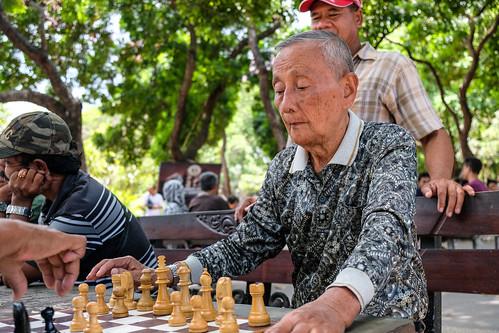 Chess in Denpasar, Bali