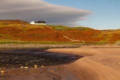 Clashnessie Beach (RichRobson) Tags: clashnessie beach nc500 curves autumn lines scotlandwestcoast scottish landscape beachscape morningsun