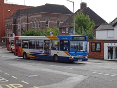 Stagecoach 34582 Chesterfield (Guy Arab UF) Tags: stagecoach yorkshire 34582 yn04yxr alexander dennis dart slf pointer bus new beetwell street chesterfield derbyshire buses