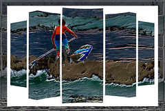 Just Surfing (PaulO Classic. ©) Tags: canon eos450d capetown glencairn 3d photoshop picmonkey spe smartphotoeditor ddg sliderssunday