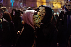 181105_MMM-13 (Harvin Alert) Tags: millionmaskmarch2018 million mask march v for vendetta guy fawkes 5th november street photography 2018 fujifilm london parliament square xpro2 xf50mmf2