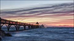 Sunset Clevedon Pier (E.Kilmartin) Tags: clevedonpier sunset pier clevedon somerset seaside victorianpier pentax k3ll hdda1685mmf3556eddcwr
