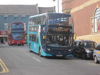 Arriva North East 7553 (SN15 LLD). Eldon Square Bus Station, Newcastle