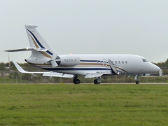 D2TH N200LX (gulfstreamchaser) Tags: n200lx dassault falcon d2th 2000 2000lx egss stn stansted